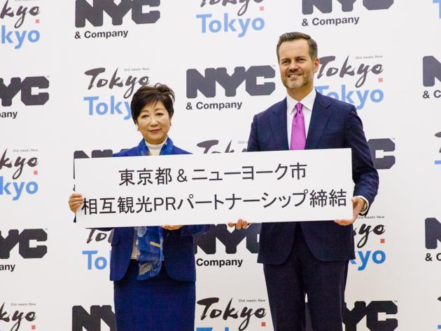 東京とNYが観光PRパートナーシップ締結。両都市間の旅行者増を目指す