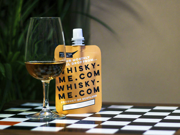 This London bar is delivering whisky pouches to homes