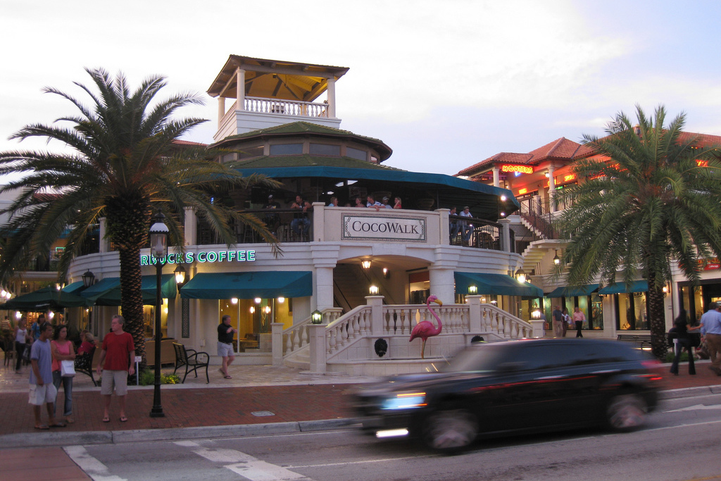 Coconut Grove tree lighting at CocoWalk & Where to see Christmas lights in Miami and Fort Lauderdale azcodes.com