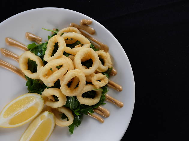 Calamari Sant'Andrea at Caffe e Cucina
