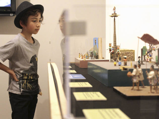 el juego y el arte de la miniatura. Exposición.