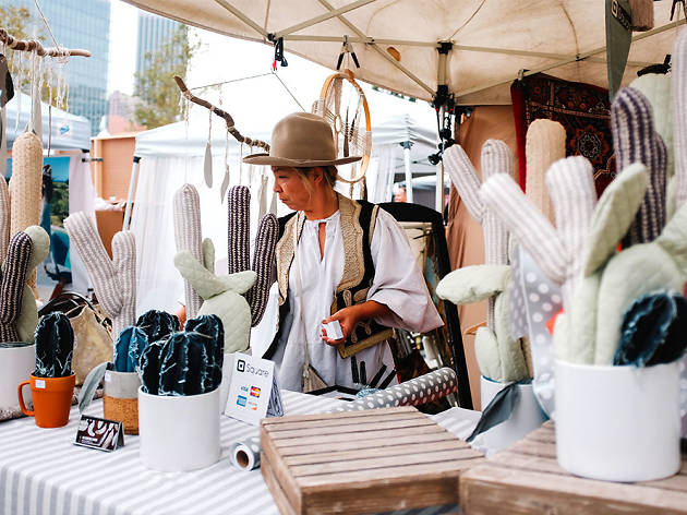Holiday markets in Los Angeles