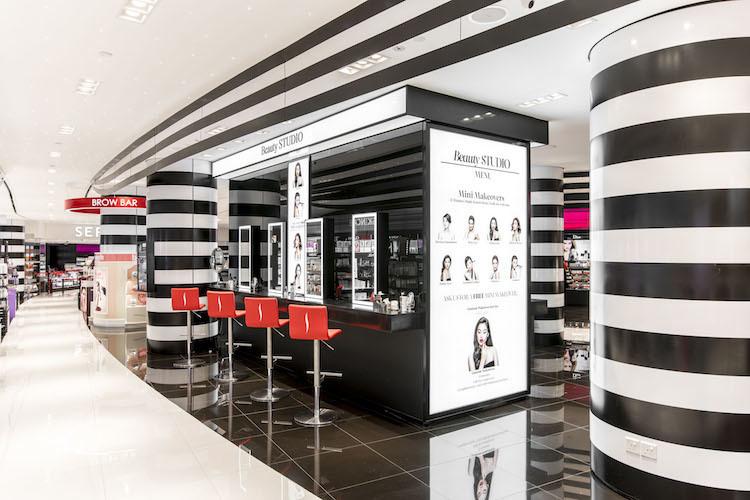 Get a makeover at Sephora