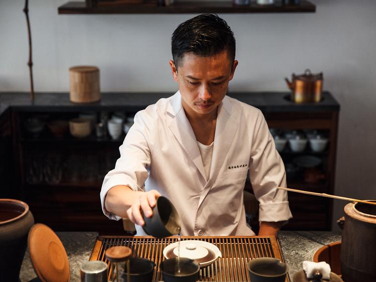 Enjoy a Japanese-style afternoon tea with wagashi at Sakurai