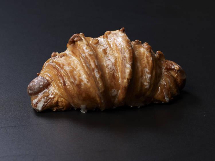 Bubó: Cruasanes de avellana y Nutella
