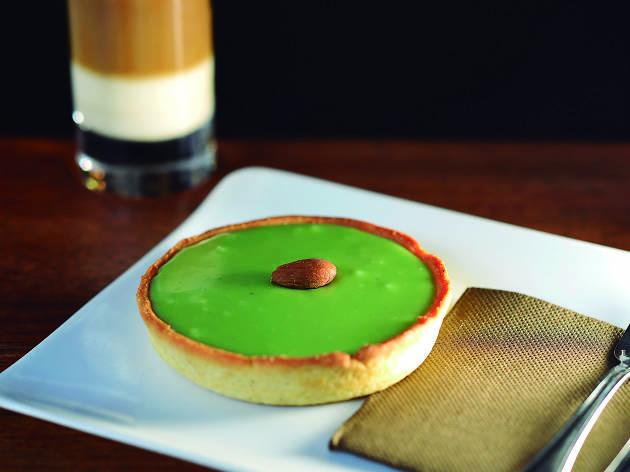 Tarte & Quiche: Pastisset de xocolata blanca i pistatxo