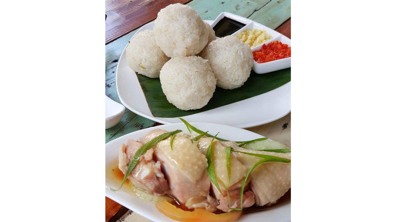 Chuup chicken rice balls