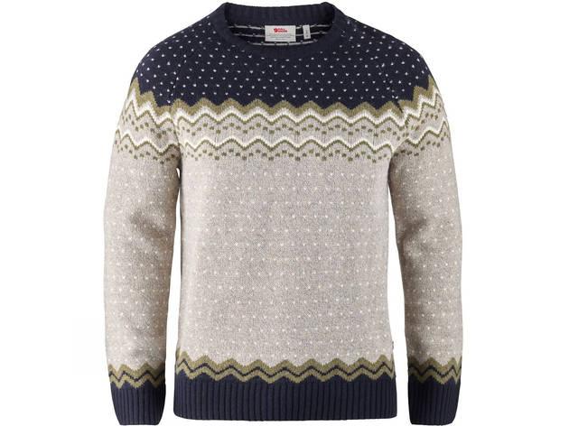 Men's Övik knit sweater by Fjällräven, £130