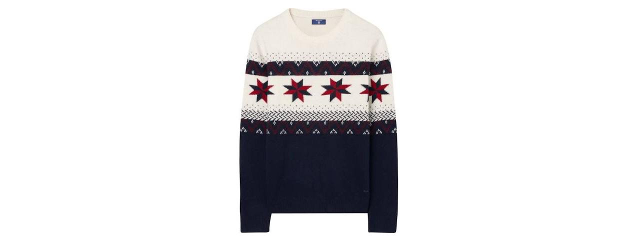 Men's Fairisle jumper by Gant, £175