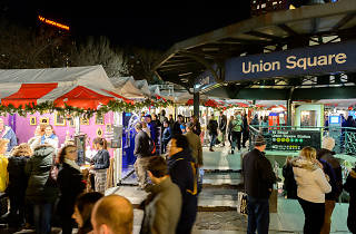 The Union Square Holiday Market opens on Thursday