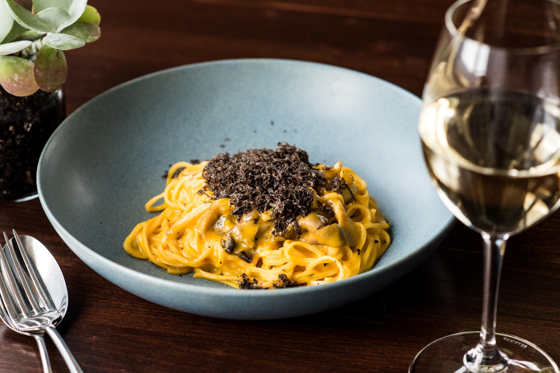 The Nielsen pasta wine