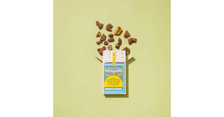 Chocolate-covered honeycomb