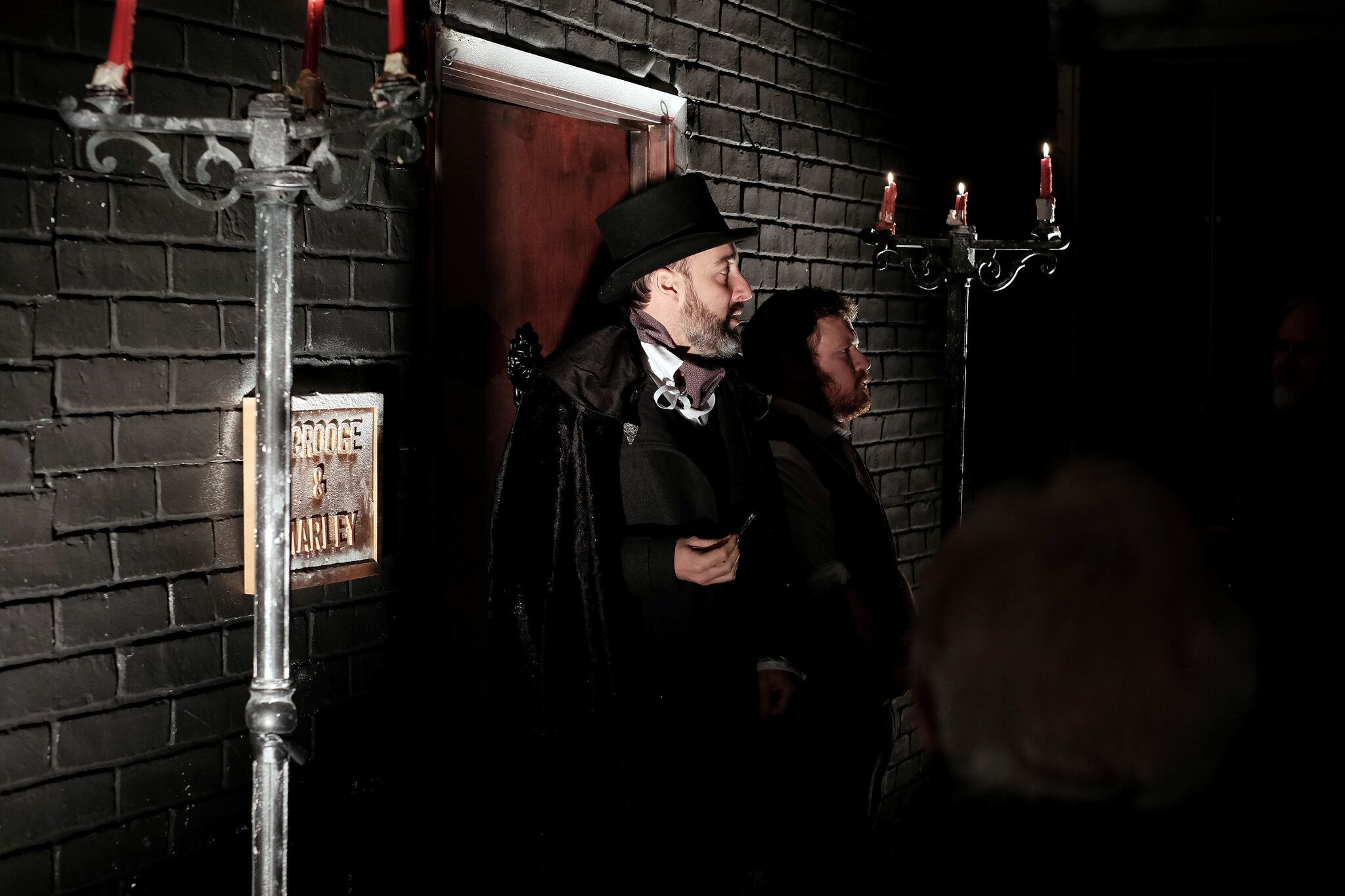 'A Christmas Carol' at Scrooge's Parlour, Shoreditch