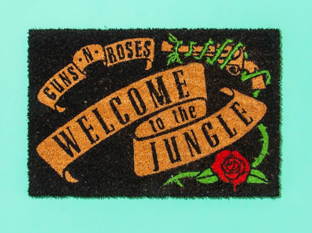Guns N' Roses 'Welcome to the Jungle' doormat
