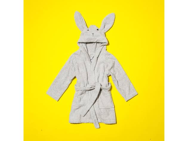 Organic cotton rabbit bathrobe by Liewood