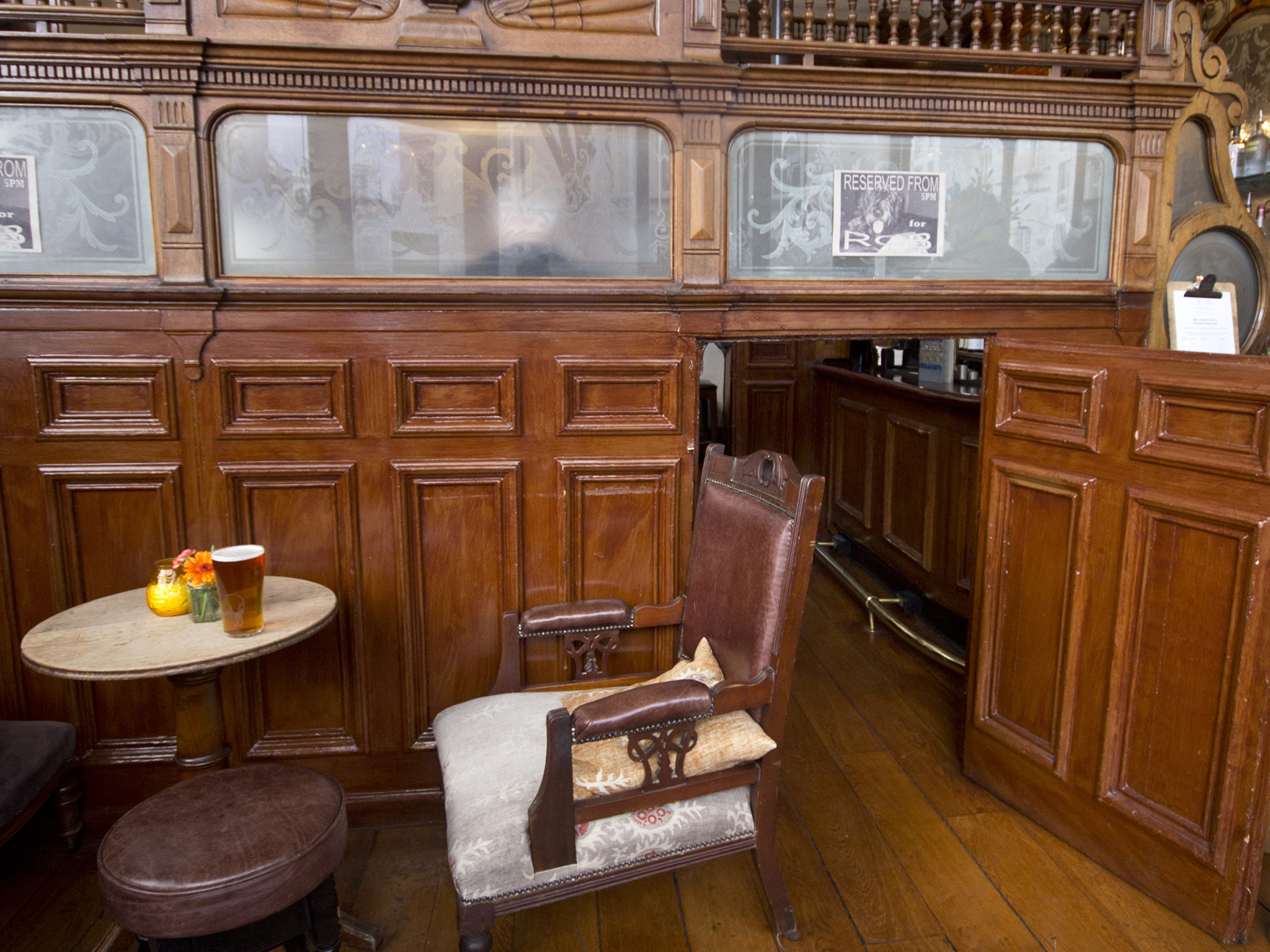 prince alfred & formosa dining room, cosy pubs
