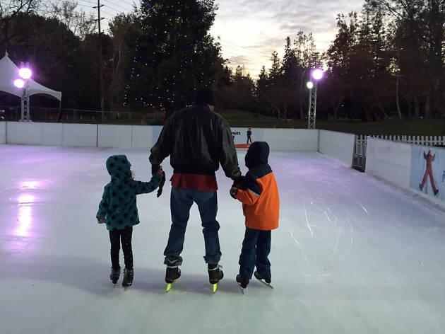 Santa Clara on Ice