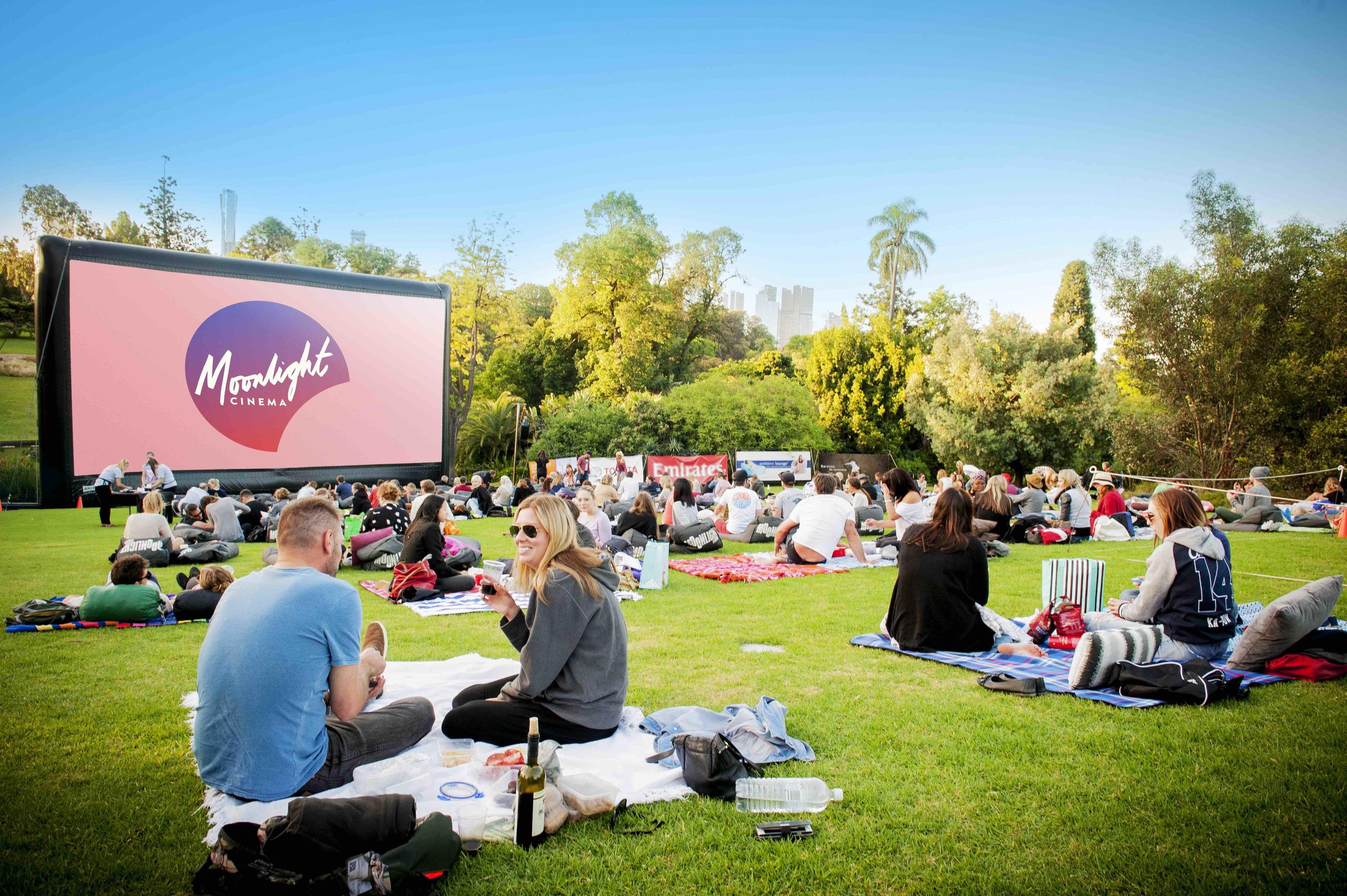 Moonlight Cinema Opening Night Melbourne