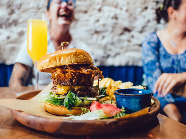 Native burger