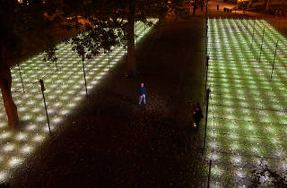 A new dreamlike art installation is now on view at Madison Square Park