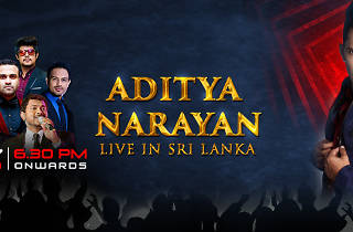 Aditya Narayan Live in Sri Lanka