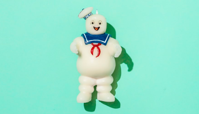 Stay Puft 'Ghostbusters' candle