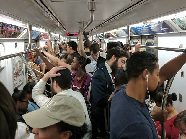 Subway ridership keeps dropping as service continues to be miserable