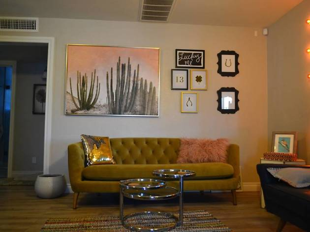 Artsy Home with Retro Desert Vibe