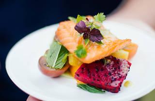 Taste of Melbourne dish close-up
