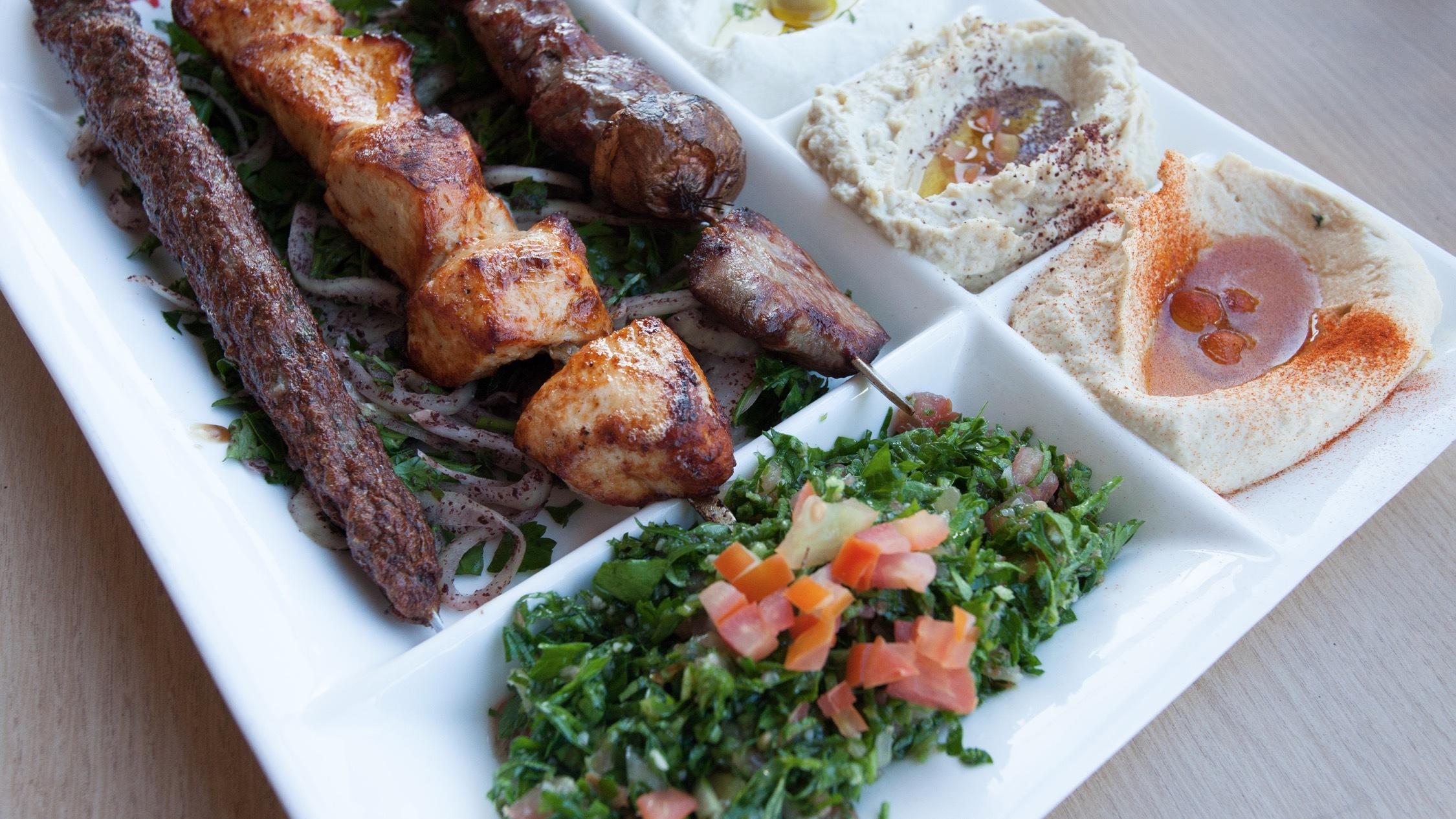Food at Al Aseel Newtown