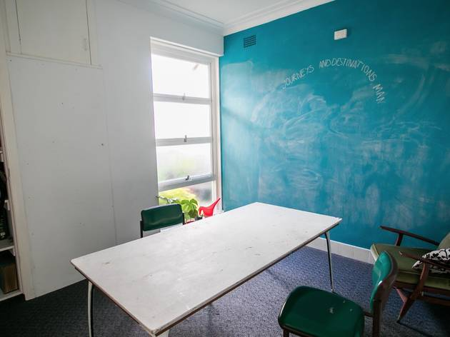 Blue room at Frontyard Marrickville
