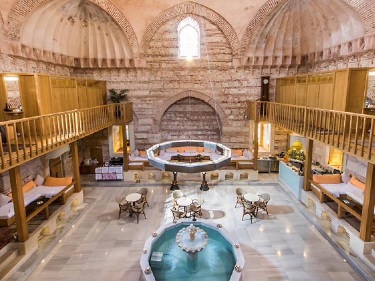 Get a full body scrub at a hammam in Istanbul