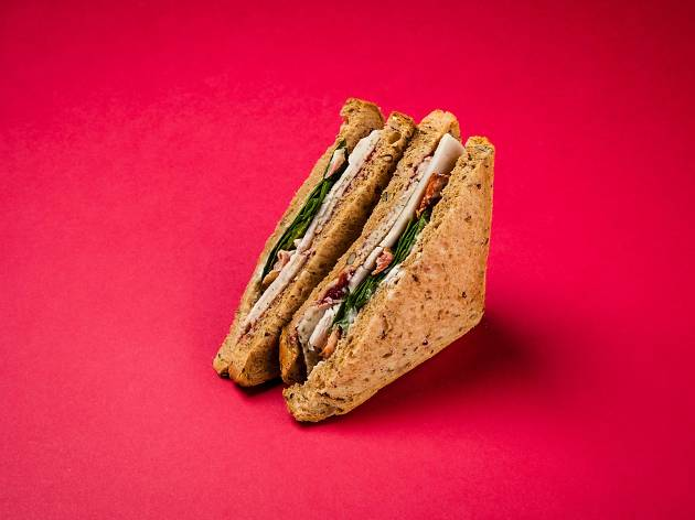 Crussh: Festive Turkey Feast Sandwich