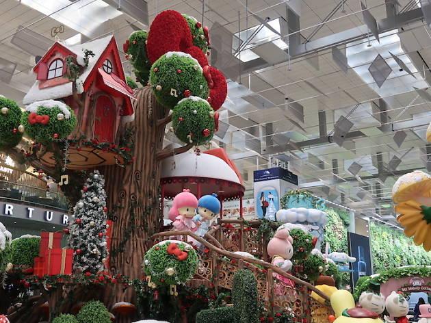 Hello Kitty Extravaganza at Changi Airport