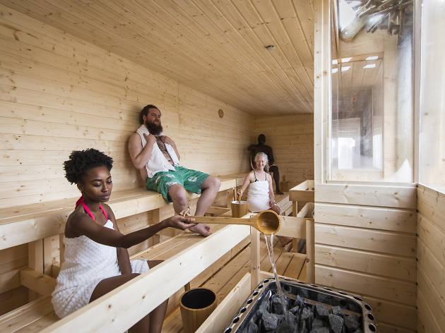 Southbank Centre's Finnish Rooftop Sauna