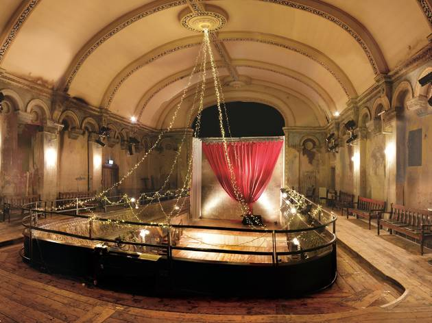 Check out an exhibition dedicated to the world's oldest surviving music hall