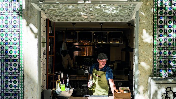 A janelinha do Green Coffee na Madpizza da Baixa