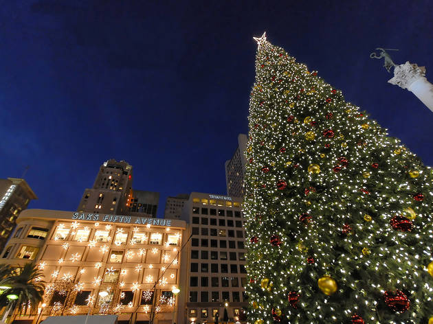 Union Square Tree Lighting