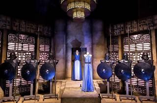 La sala Daenerys Targaryen de la exposición Game of thrones: The touring exhibition'