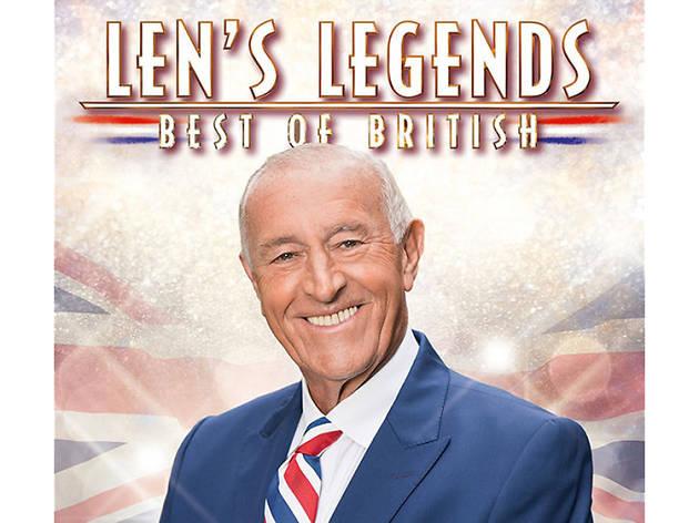 Albums for oldies- Len Goodman 'Len's Legends Best of British'