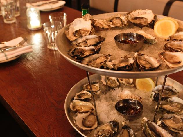 Oysters at The Morrison Bar & Oyster Room