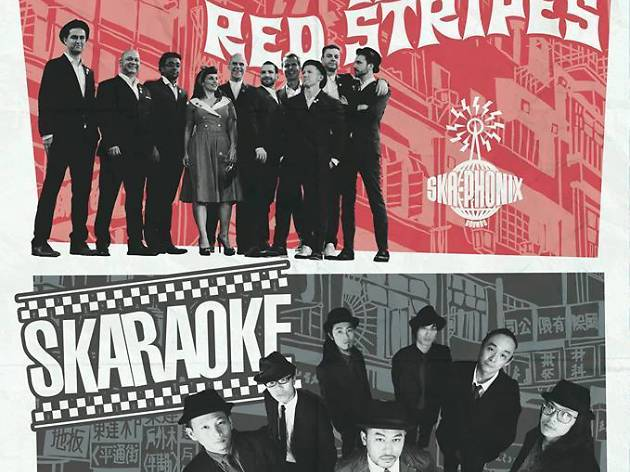 The Red Stripes album release party with Skaraoke