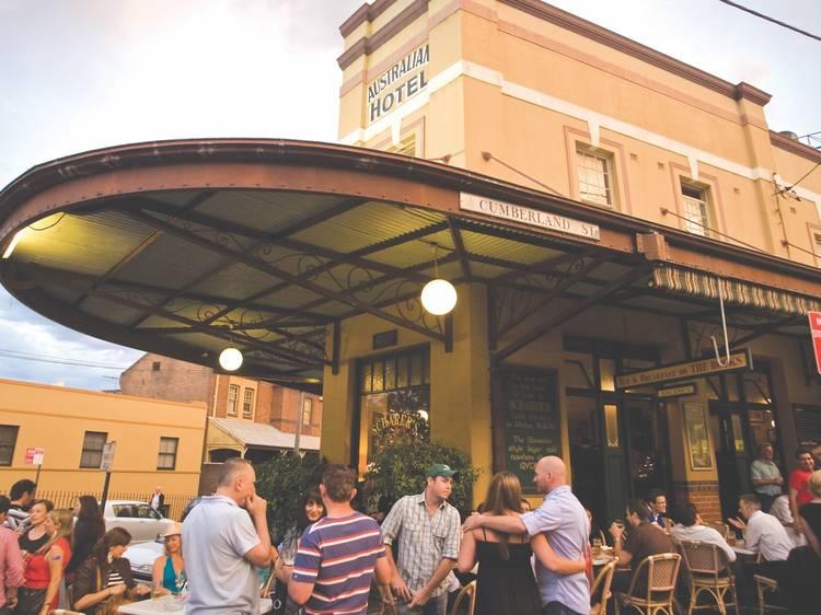 The Australian Heritage Hotel – Wednesday 7pm