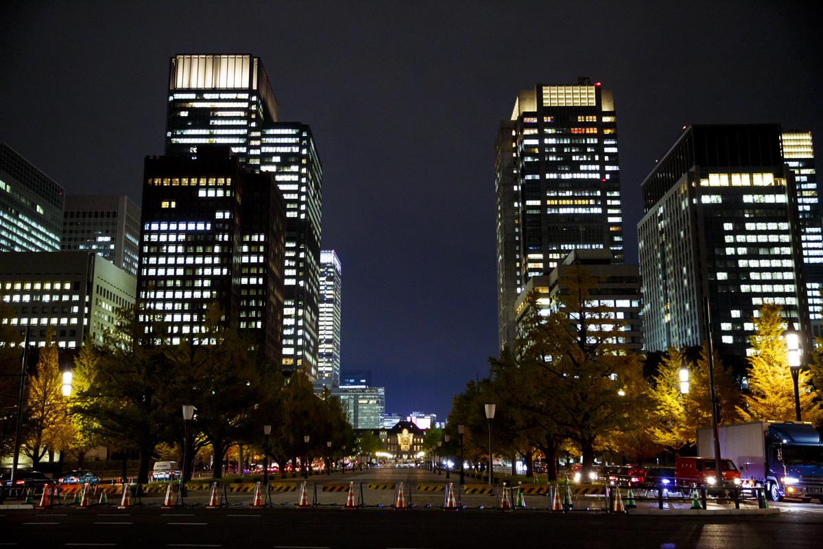 Marunouchi at night | Time Out Tokyo