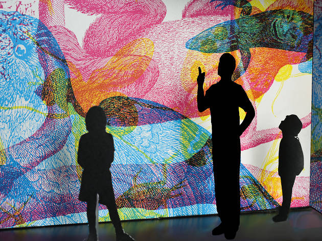 A trippy new exhibition opens at the American Museum of Natural History today