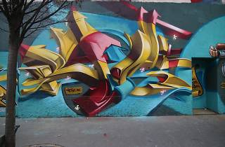Hip Hop Festival Graffiti Workshop 2017