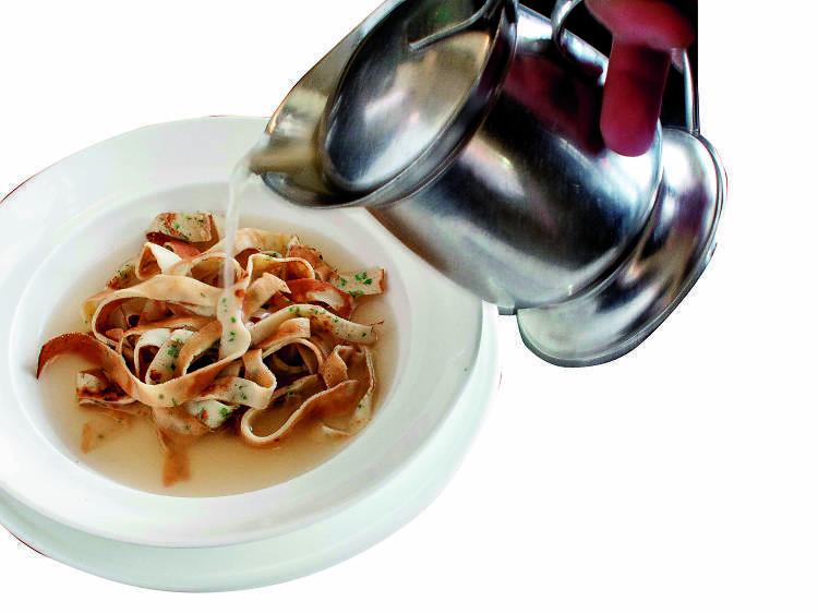 Crab Ravioli - Brasserie