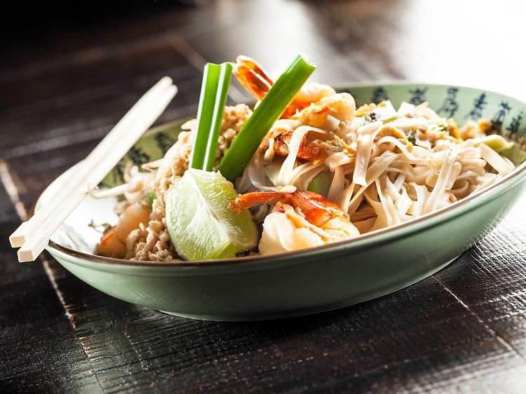 Três sítios para comer pad thai