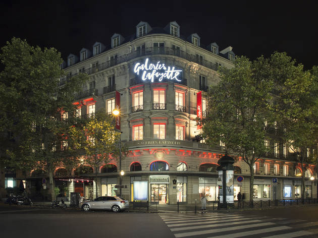 Galeries Lafayette Shopping In Chauss 233 E D Antin Paris