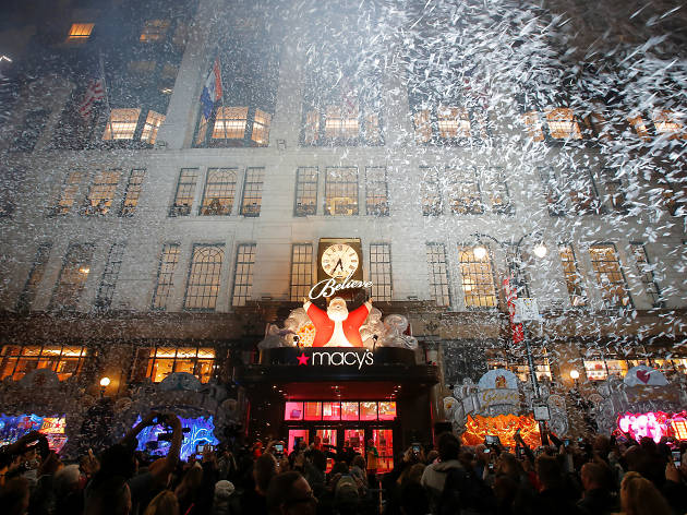 Macy's Herald Square Christmas Window Unveiling
